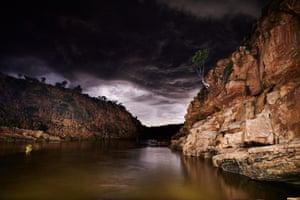 Night storms in the Wunaamin Miliwundi Ranges