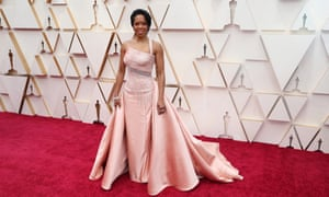 Regina King arrives for the 92nd annual Academy Awards ceremony at the Dolby Theatre in Hollywood.