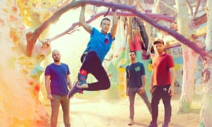 Hanging around... Coldplay in 2017