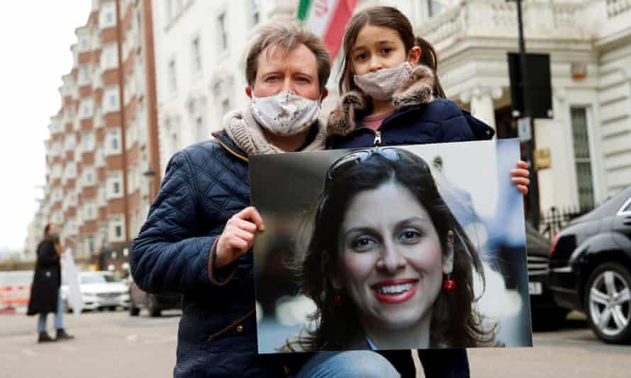 Nazanin Zaghari-Ratcliffe's family