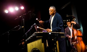 Bobby Hutcherson performing at Dizzy's Club Coca-Cola, New York, in 2006.