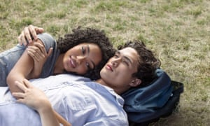 Twin stars: Yara Shahidi with Charles Melton in The Sun Is Also a Star.