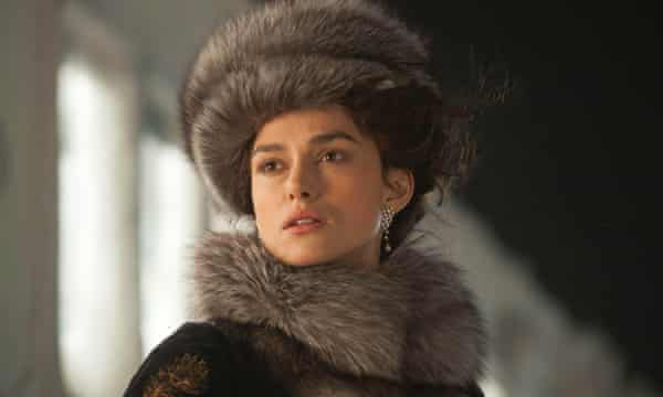 Keira Knightley in the 2012 film version of Anna Karenina