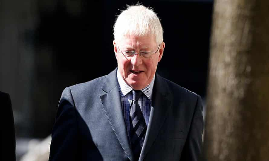 Malcolm Layfield outside Manchester crown court where he was cleared of raping a student when he was a married father in his 30s.