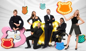 Mel Giedroyc, Rochelle Humes, Marvin Humes, Graham Norton, Ade Adepitan and Tess Daly in Children in Need