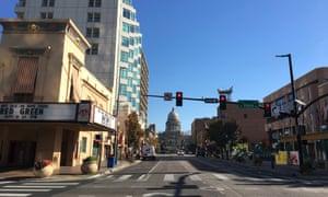 Downtown Boise, Idaho's capital