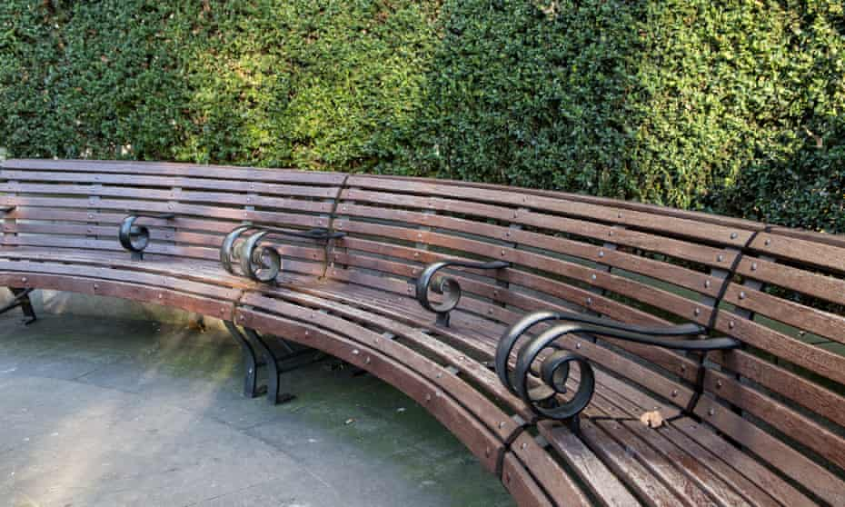 Street furniture is being designed to stop homeless people from sleeping on it.