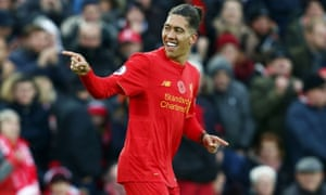 Roberto Firmino has scored six goals for Liverpool this season and is a key player in Jürgen Klopp's pressing style