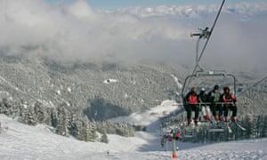 Budget ski resort Bansko