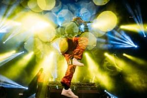 American rapper Lil Yachty, aka Miles Parks McCollum,