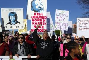 Women's march in St Louis