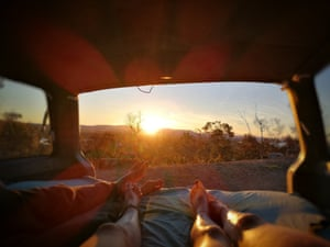 Australia's tourism industry is anticipating a rise in van travel.
