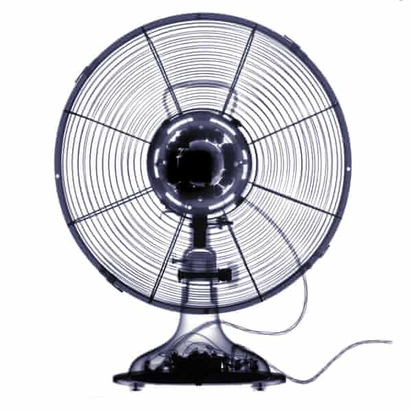 X-ray of an electrical fan