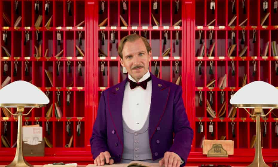 Ralph Fiennes as M Gustave in The Grand Budapest Hotel.