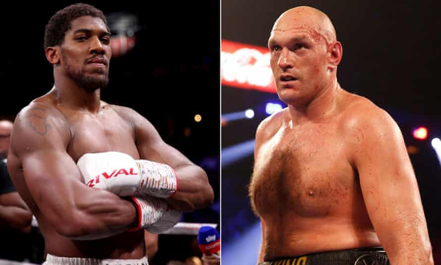 """Anthony Joshua and Tyson Fury are already """"in agreement regarding the financial terms"""""""
