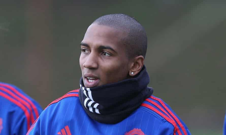 Ashley Young was passed fit to start against Bournemouth and again ended the 2-1 defeat on the bench.