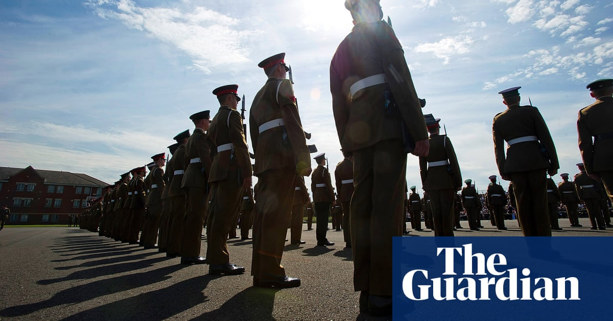 Stretched British army 'leaning on' under-18s to fill its ranks
