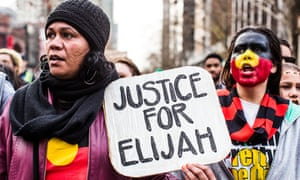 Protesters in Melbourne rally against the verdict handed to the man who killed Elijah Doughty