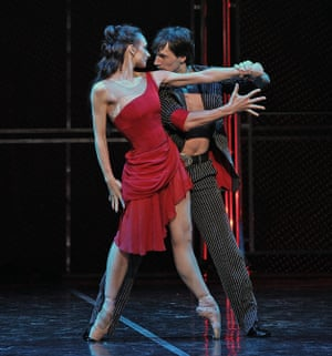 Irina Kolesnikova (Carmen) and Yuri Kovalev (Garcia) in Her Name Was Carmen.