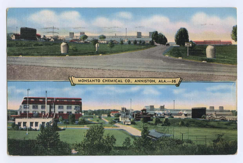 Fábrica de Monsanto en Anniston (Alabama)