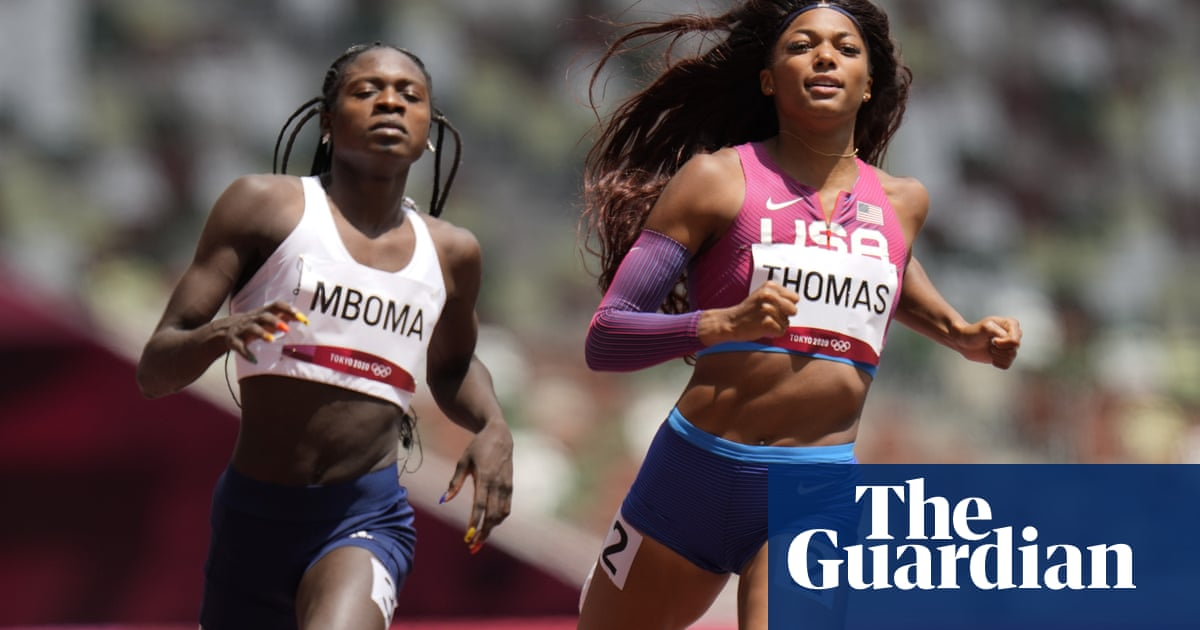 Masilingi and Mboma racing against Olympic elite and complex cruelty