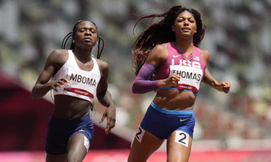 Masilingi and Mboma racing against Olympic elite and complex cruelty    Tokyo Olympic Games 2020   The Guardian