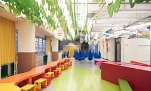 Forscherwelt child-appropriate science classroom; Düsseldorf; Henkel; production site