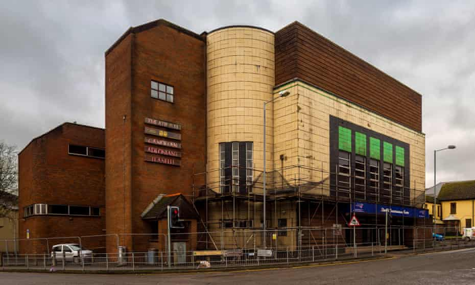 Llanelli Odeon cinema building.