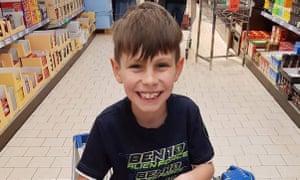 Callum Cartlidge was described as a friendly and smiley child.