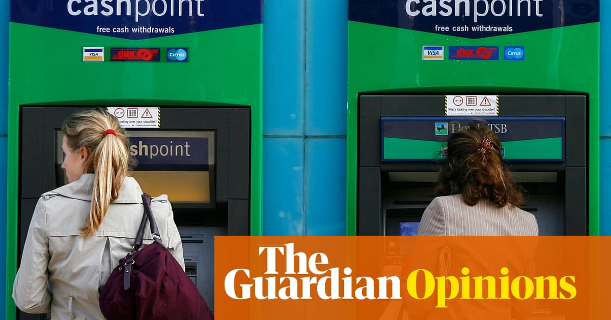 The cashless society is a con – and big finance is behind it | Brett