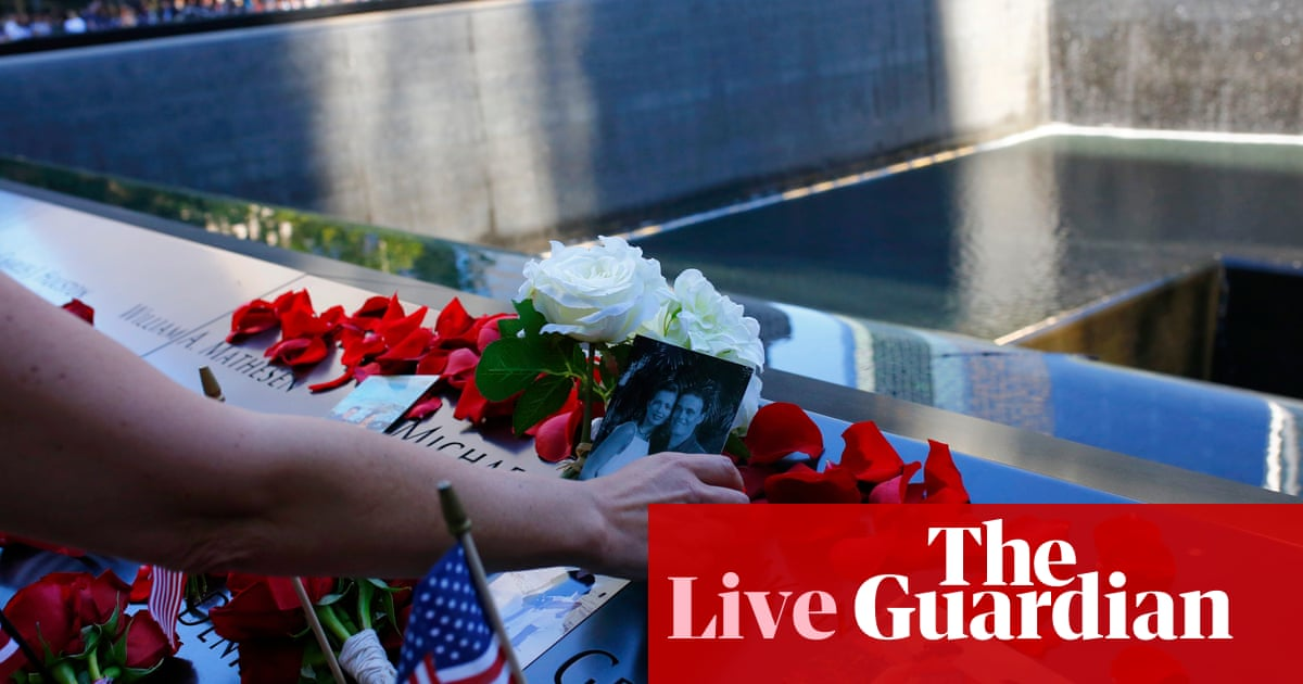 9/11 anniversary: Bush calls for unity as US marks 20 years since terror attacks – live