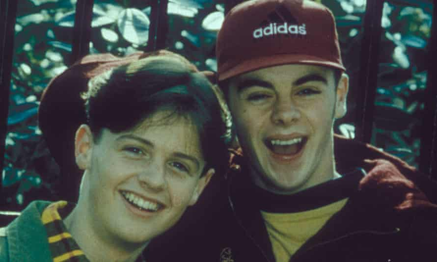 Declan Donnelly and Ant McPartlin in Byker Grove.