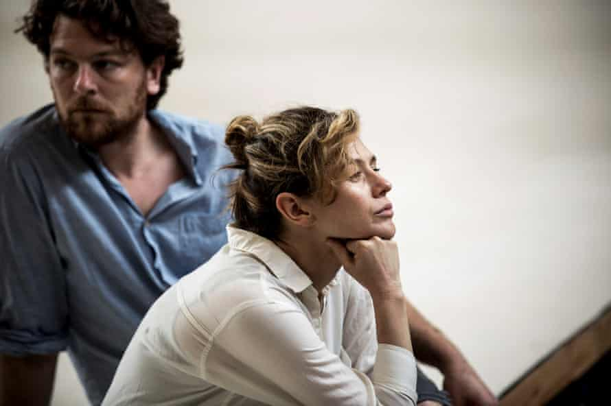 Yael Stone and Dan Spielman 'have to try and be careful' of the impact this play could have on their relationship