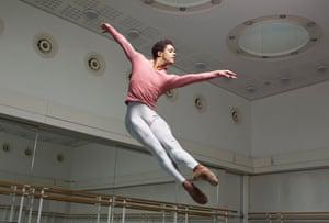 Marcelino Sambe - principal dancer at the Royal Ballet. photographed at Royal Opera House, London