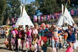 Splendour in the Grass festivalgoers