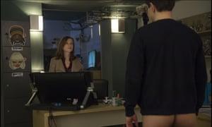 Isabelle Huppert in Elle.