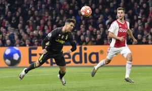 outlet store 224c1 3798f Ronaldo ruthless for Juve but Neres leveller gives Ajax ...