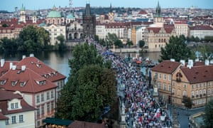 Prague protest