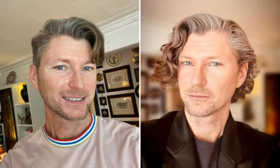 David's hair