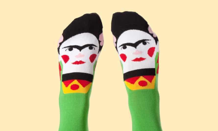 Socks on feet from Chatty Feet