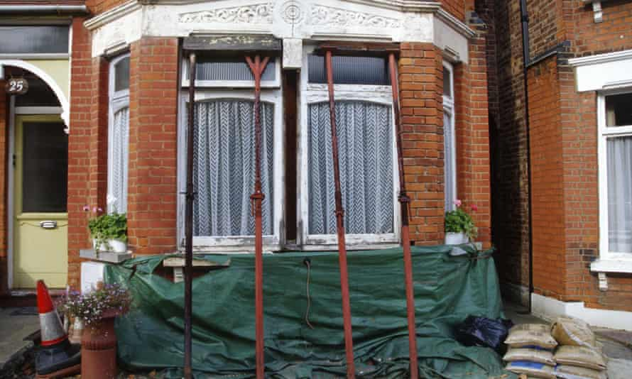 Subsidence in London is common and many insurance companies won't even entertain giving cover.