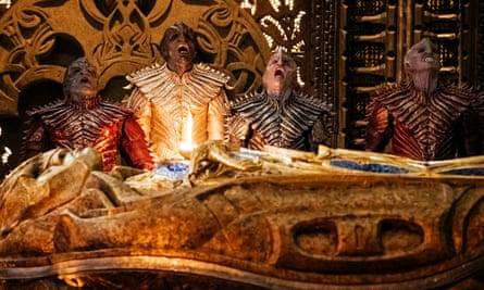 Let's make Klingons great again … Star Trek: Discovery.