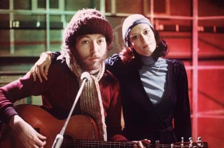 Richard and Linda Thompson in 1975.