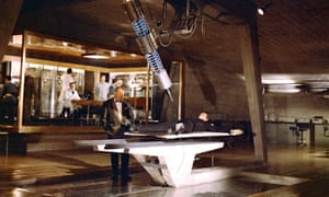 One of Ken Adam's iconic sets for the James Bond film Goldfinger