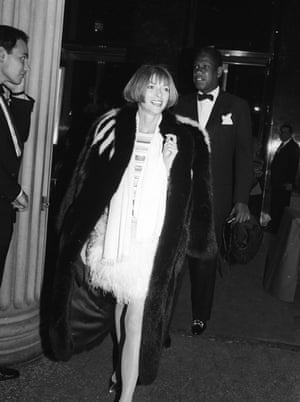 'She's loyal' ... Talley with Anna Wintour at a New York fashion awards dinner in 1988.