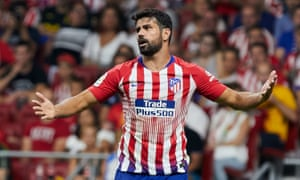 Diego Costa will hope to guide Atlético through a winnable group.