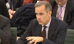 Mark Carney at the Treasury Select Committee