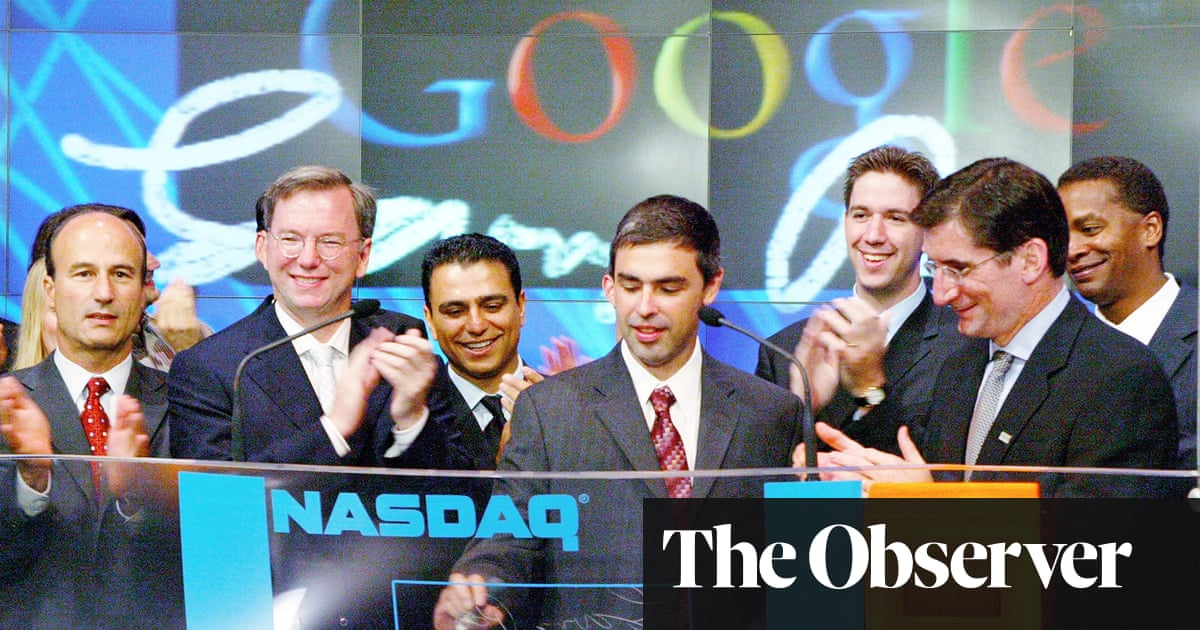Don't Be Evil review – how the tech giants have become too big to fail