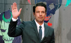 Long arm of the law … Ben Affleck.
