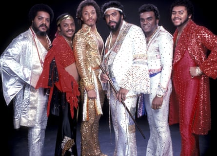 'A message of hope and celebration' … the Isley Brothers, (from left) O'Kelly and Ernie Isley, Chris Jasper, Rudolph, Ronald and Marvin Isley.